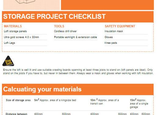 Wickes release new loft storage guide including Loft Legs