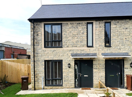 Case Study: 3 Bed New Build Semi, Foulridge, England
