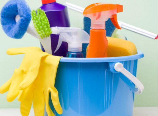 4 helpful tips to kickstart your spring cleaning at home