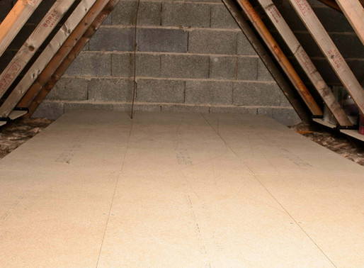 5 top tips to maximise your loft storage space