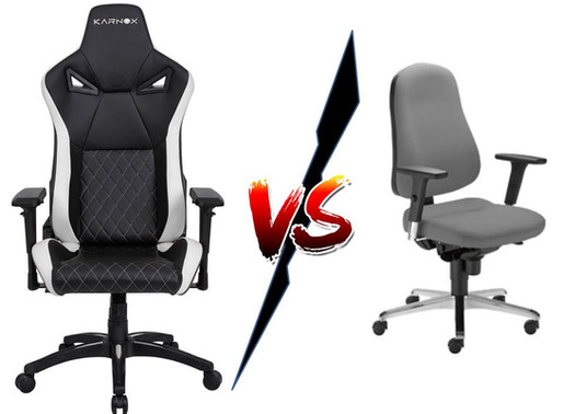 Gaming Chair vs Office Chair; Here Are 7 Differences