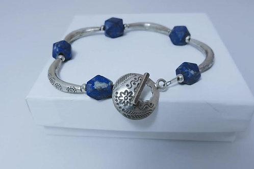 Lapis Bracelet by Karen Drazen