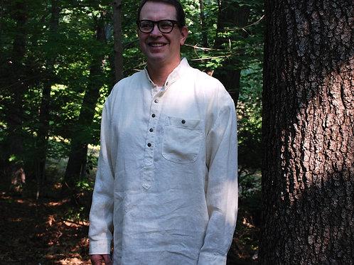 Shirt Hemp Henley by Sarah Winter