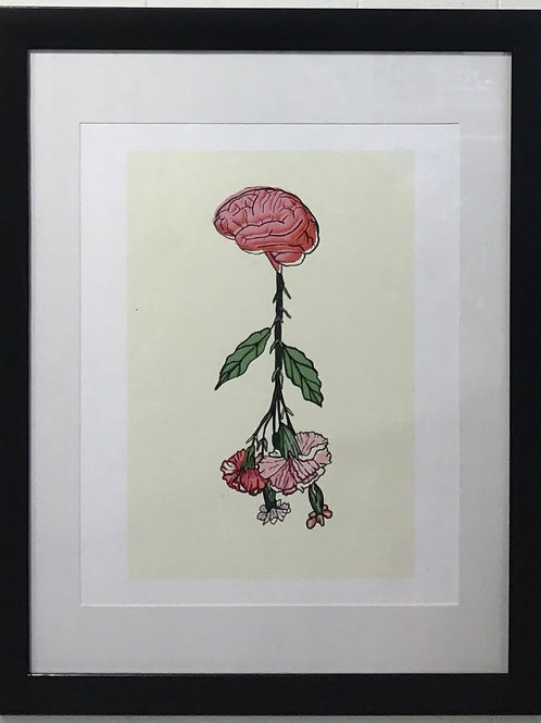 Brain Flower by Hanna Crose