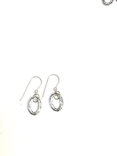 Swarovski Oval Earrings by Linda Davidson