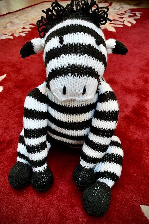 Covid Critter: Jumbo Zebra