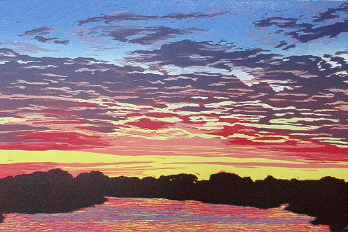 Reflection Pond by Shirley Bernstein