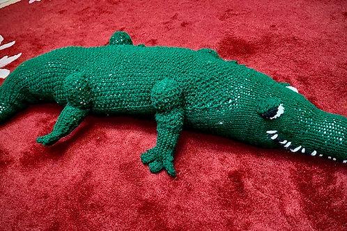 Covid Critter: Jumbo Crocodile by Trisha Corey-Lisle