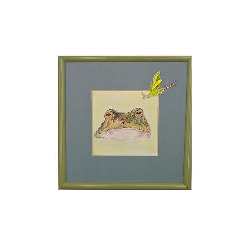 Windham Frog & Bug by Annie Wandell