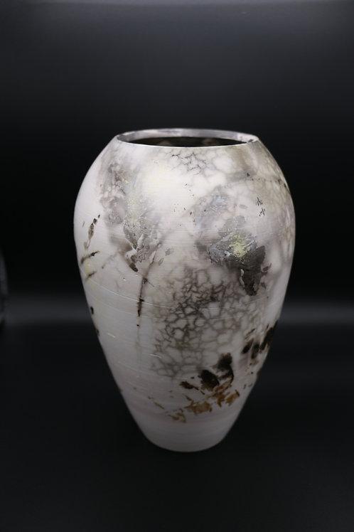 White Sig Vase