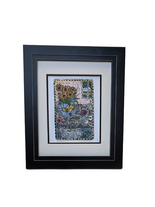 Framed Honoring RBG by Maggie Kendis