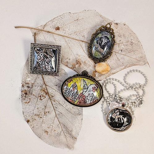 Pins & Pendants by Maggie Kendis
