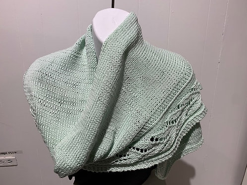 String of Tulips Shawl by Trisha Corey-Lisle