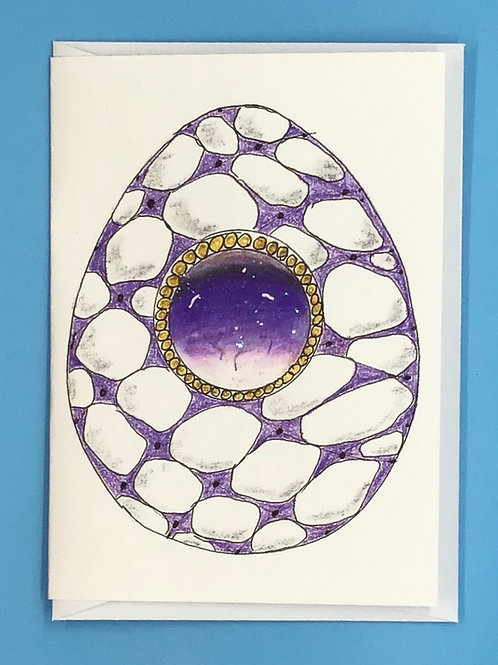 Gem Egg Cards by Frietha Lawerence