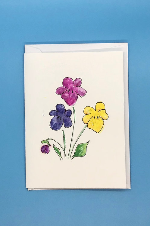 Flower Cards by Frietha Lawerence