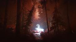 Skábma - Snowfall Game. Skabma. Áilu meets Sarvvis. An adventure game inspired by indigenous Sámi.