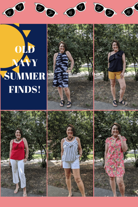 Old Navy Summer sale finds and outfit ideas