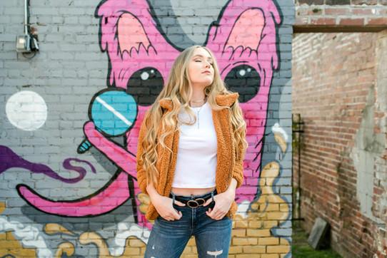 Cooper Young urban senior photography Memphis