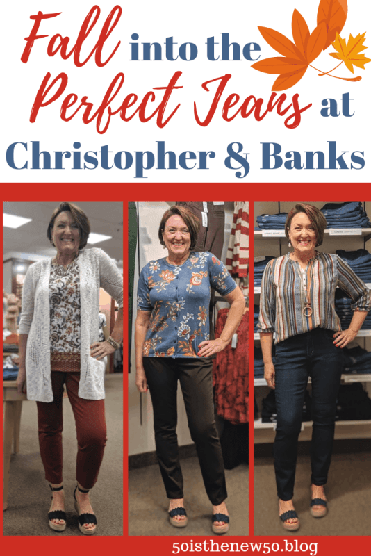 find the perfect jeans for fall at christopher and banks
