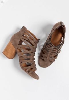 Erin Strappy Criss Cross Heels