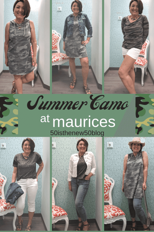 Summer camo outfits at Maurices.