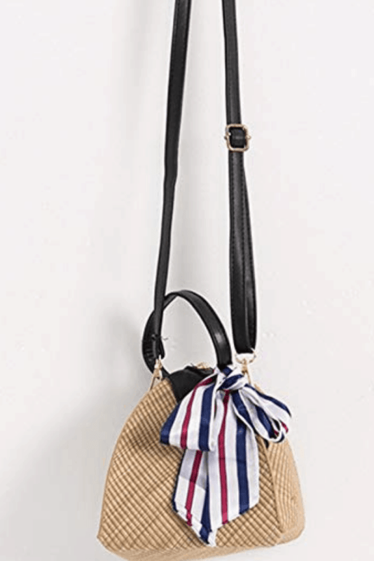 Yingar straw handwoven convertible crossbody shoulder bag available to shop here! #amazonfashion #summerbags