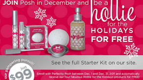 Perfectly Posh December Incentive