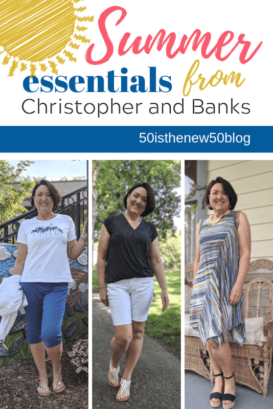 Summer essential outfits from Christopher and Banks.