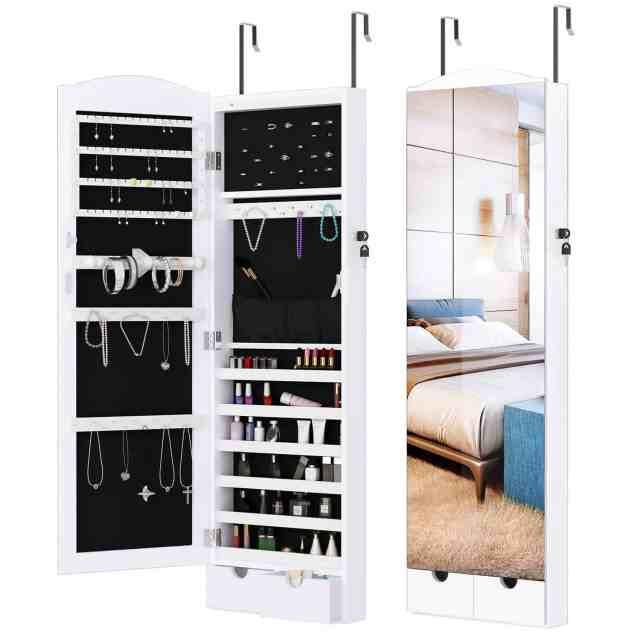 over the door jewelry organizer cabinet