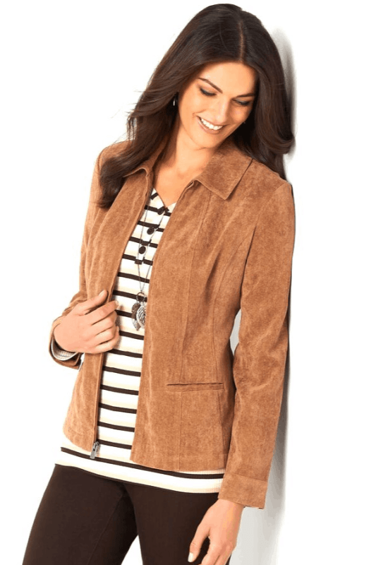 Silky Corduroy Jack from Christopher & Banks comes in 7 gorgeous Fall colors!