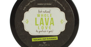 My Obsession with Perfectly Posh's Whole Lava Love Face Exfoliator