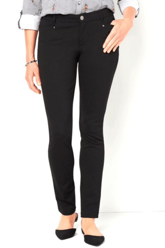 Signature Slimming Ponte Pants from Christopher & Banks are a Fall fashion essential