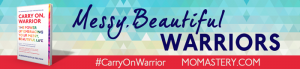Honored that this post is part of the Carry On, Warrior Blog Tour! Thank you Glennon!