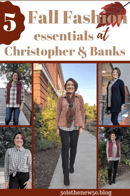 Five fall fashion essentials at Christoper & Banks