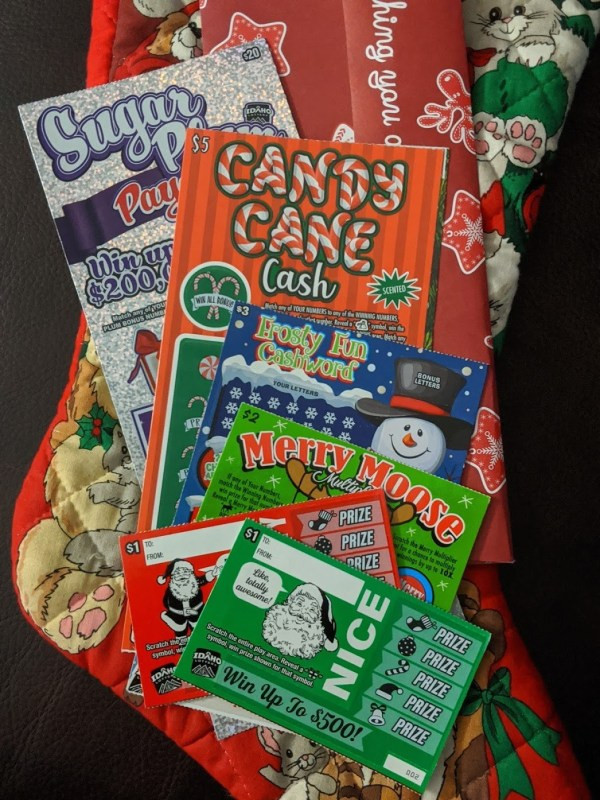 This Holiday Season the Idaho Lottery has 6 Fun Scratch Games