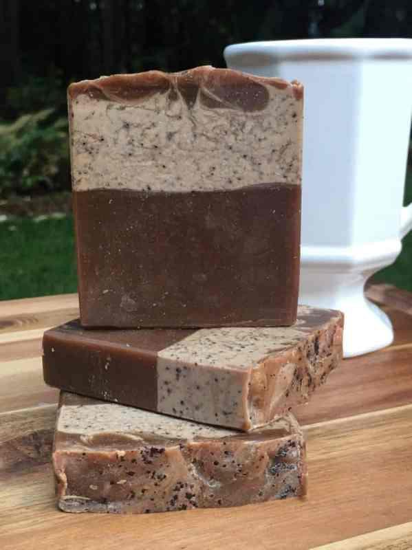 switch to handmade soaps by using mermaid bodyworks beach coffee soap