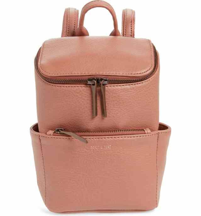 Matt & Nat Mini Brave Faux Leather Backpack Nordstrom winter sale