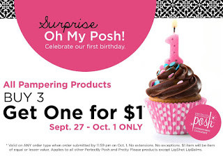 Happy Birthday Perfectly Posh!