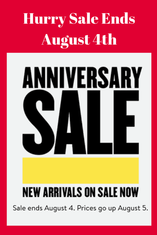 Nordstrom Anniversary Sale 2019 starts July 19th and ends August 4ths