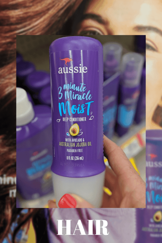 Aussie 3 Minute Miracle Moist Deep Conditioner review from my local walgreens