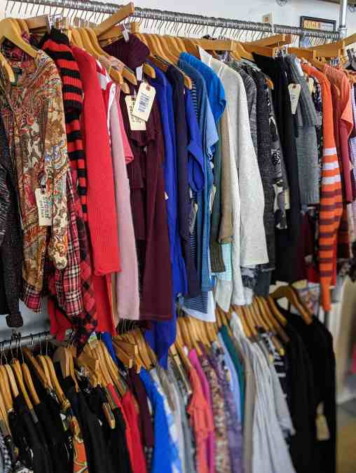 consignment shop fashion finds