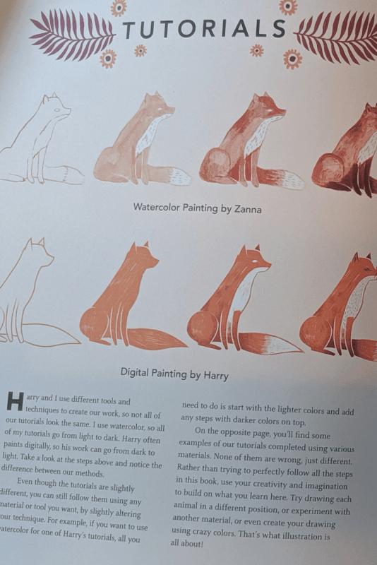 The Creature Garden - An Illustrator's Guide to Beautiful Beasts & Fictional Fauna by Harry & Zanna Goldhawk .