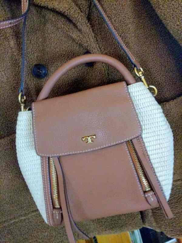tory burch half moon cross over bag