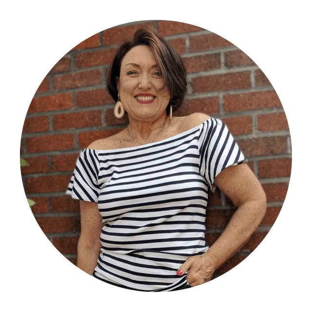 Karen Lien midlife fashion blogger from 50isthenew50blog