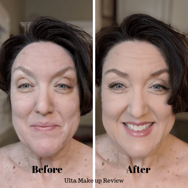 Ulta Beauty Makeup Review before and after photo