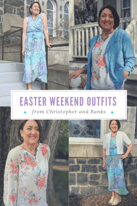 easter weekend church brunch casual classy outfit ideas for women dresses florals lavender purple teal green mint spring 2019