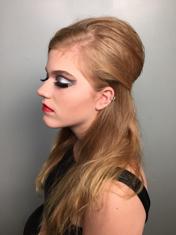 1960s inspired Makeup