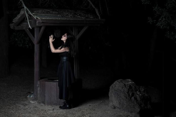 Darkness.