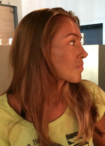 Angelina Jolie Likeness Makeup