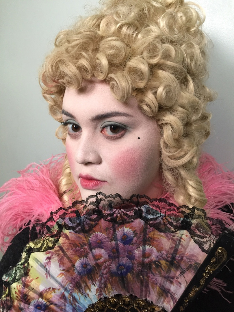 1800s inspired Makeup